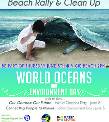 Support World Environment & Oceans Day