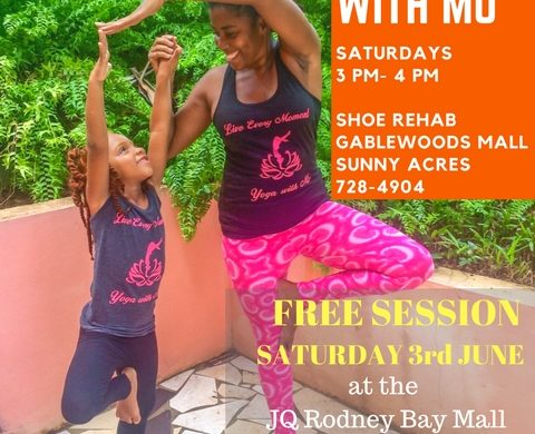 The Foot Spa presents Family Yoga with Mo: Two rising stars come together to promote health and wellness in youth.