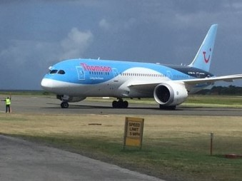Saint Lucia Welcomes Thomson Airways Inaugural Flight