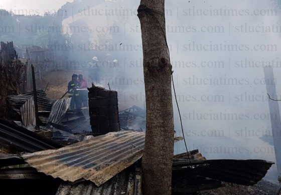 House at Bisee destroyed by fire