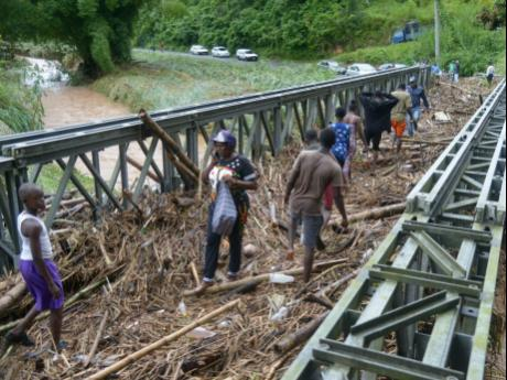 Heavy rains bring misery to Jamaica