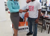 "Courts St Lucia Sponsors Club Gars ""Walk 4 A Cause"" Initiative"