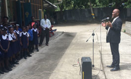Mayor Francis Concludes First Phase of School Tours in the Castries Basin