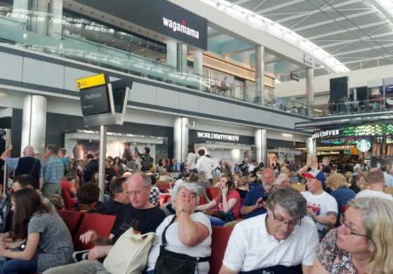 London airports mayhem