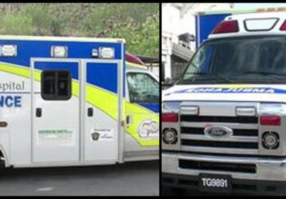 St Jude Hospital ambulance now in service