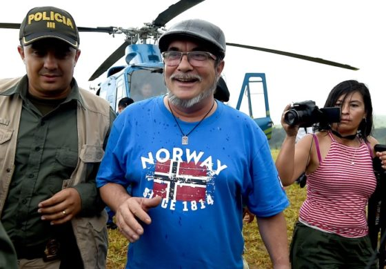 Colombia FARC rebels celebrate historic disarmament