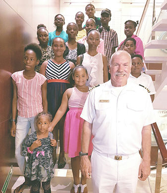 Lightning Aquatics & St. Lucia Sickle Cell Association  Host Successful Fundraiser Aboard Freewinds
