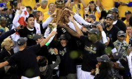 Durant powers Warriors over Cavaliers for NBA title