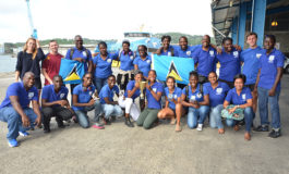 St Lucia Team returns from Guadeloupe Women 7s Rugby Tournament