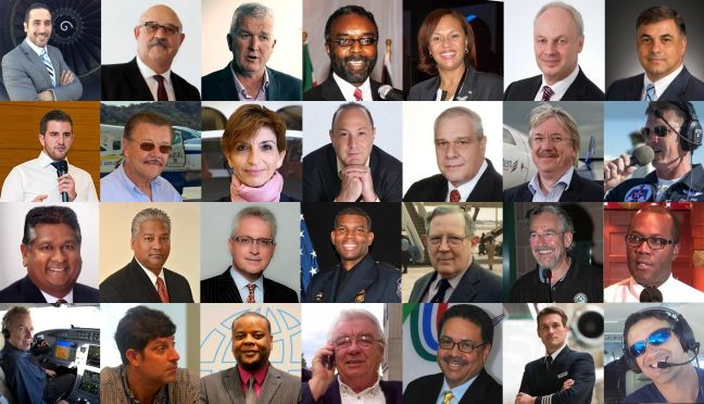 Speakers who attended the 2017 Annual Caribbean Aviation Meet Up