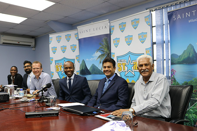 Supporting St Lucia Stars