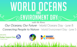 Environment & Oceans Day Thank You