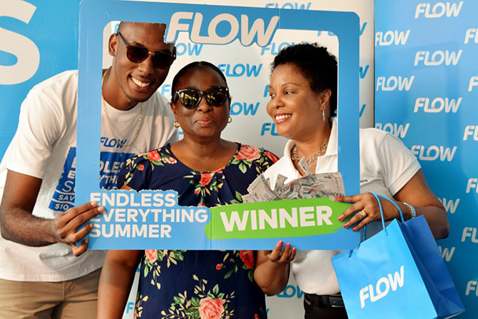 You too can WIN sunglasses from Family Eye Care just by topping up with Flow!