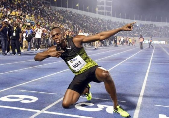 Bolt runs final race on Jamaican soil