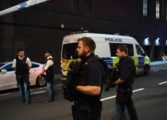 Man killed as van hits London mosque crowd