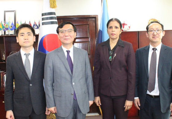 Caricom and South Korea formalize relations
