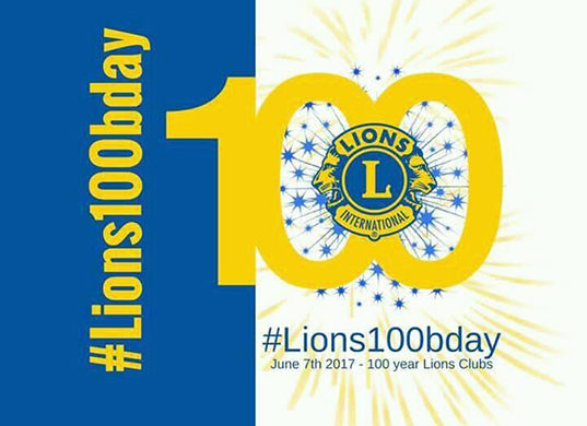 Lions and Leos of Zone 3B (Saint Lucia) Join with Lions the World Over in Observing the 100TH Anniversary of Lionism