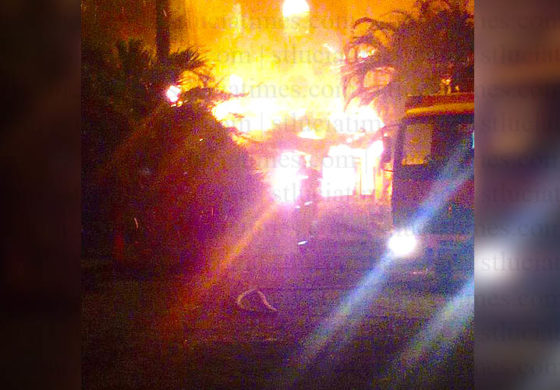 Gros Islet restaurant destroyed by fire