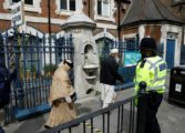 In shadow of terror, Britons vote in key election