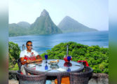 Ludacris and wife Eudoxie vacation in St. Lucia