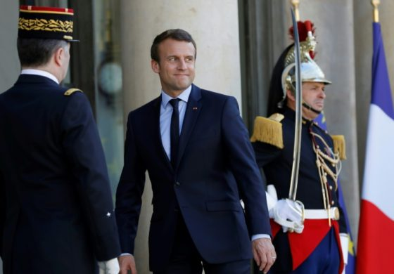 Macron's party in driving seat before election