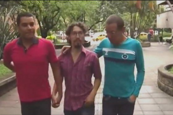 "Three gay men establish ""polyamorous family"""