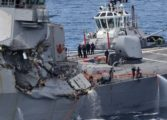 Seven US navy crew missing off Japan