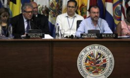OAS struggles to create mediation group for Venezuela