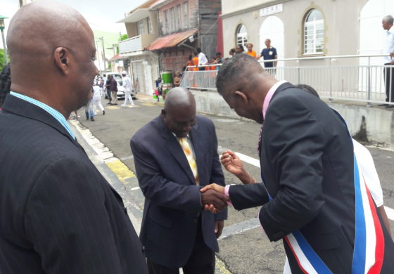 Mayor Francis concludes Martinique visit