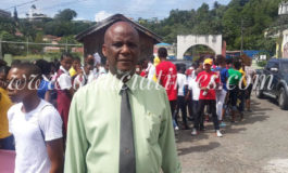 Castries Mayor urges youth to stay on straight and narrow path
