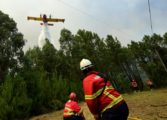 Portugal forest fire smoulders as first victims buried
