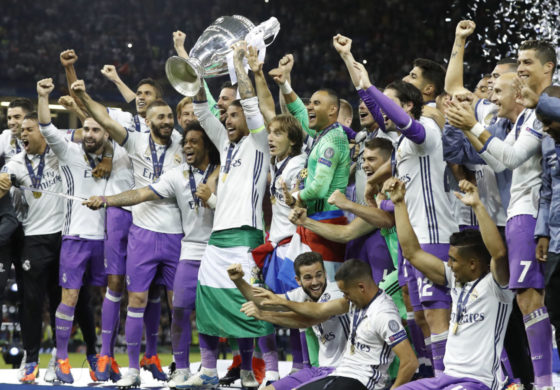 Real Madrid win Champions League Final