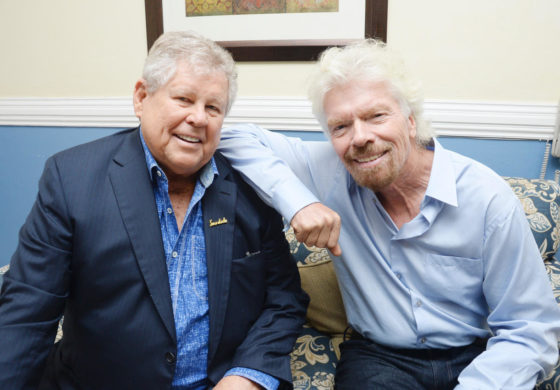 Gordon 'Butch' Stewart and Richard Branson host discussion panel for young entrepreneurs