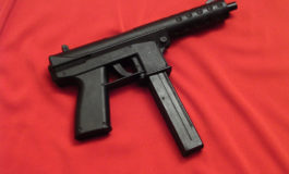 Teenager arrested with semi-automatic weapon