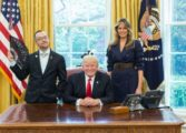 LGBT pride photo with Trump goes viral