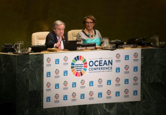 UN chief: Save the oceans to avert 'global catastrophe'
