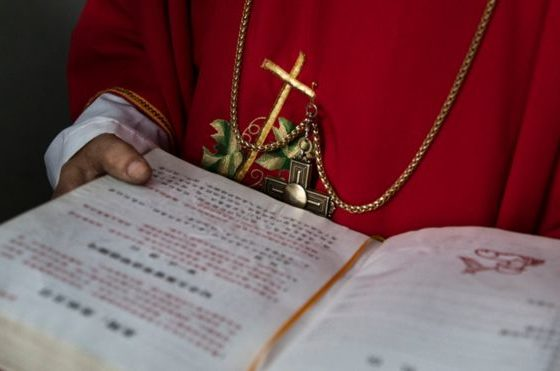 Vatican concerns over bishop detained in China