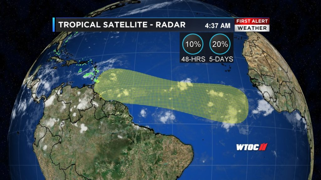 Forecasters monitoring movements in Tropical Atlantic - St