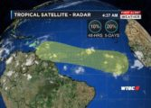 Forecasters monitoring movements in Tropical Atlantic