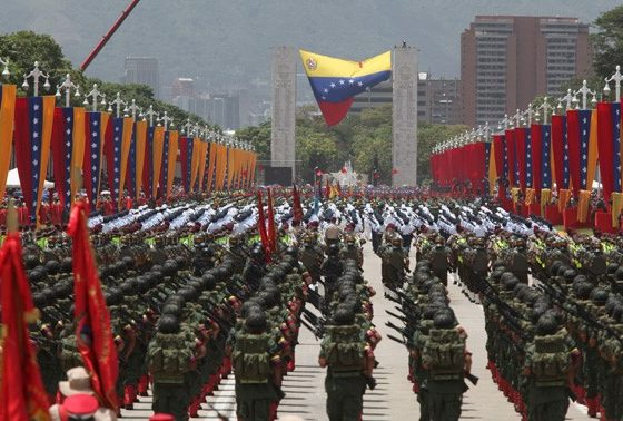 Events to commemorate Venezuela´s Independence were headed by the President