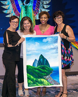 SLTB's Saint Lucia Showcase – North America, A Resounding Success