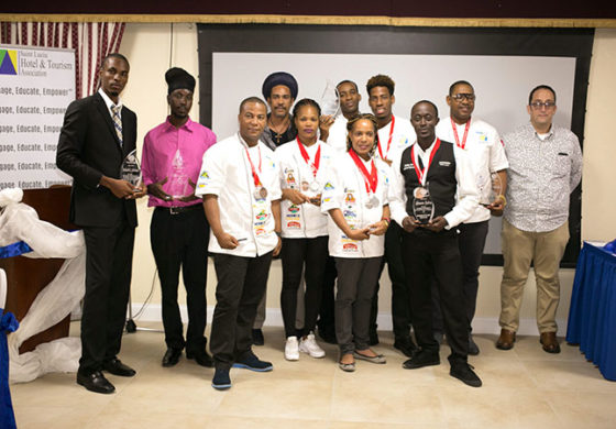 SLHTA Recognizes the 2017 National Culinary Team and Caribbean Employee of the Year