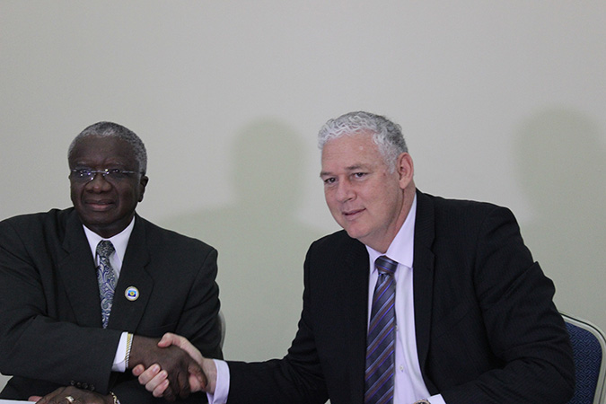 On July 6, Saint Lucia signed agreements with Barbados and with Saint Vincent and the Grenadines to delimit our maritime boundaries with those two States. The signing took place during the Thirty-eighth Regular Meeting of the Conference of Heads of Government of CARICOM, held in St. George's, Grenada, from July 4-6. These agreements are the result of negotiations held between Saint Lucia and Barbados in March 2016 and between Saint Lucia and Saint Vincent and the Grenadines in May 2017, to determine the maritime boundaries between the States. The Commonwealth Secretariat provided legal and technical advisory support to all negotiating parties. The United Nations Convention on the Law of the Sea, to which the three States are party, entitles them to each claim an Exclusive Economic Zone of up to 200 nautical miles. As a result of the fact that the countries are less than 400 nautical miles apart, it was necessary to delimit their maritime boundaries by applying the principle of equidistance. The delegations held productive discussions in a spirit of cooperation and openness and agreed on draft text of a maritime boundary delimitation agreement. In all instances, the Heads of Delegation underscored the fact that the negotiations, as well as the draft agreement between the countries, bear testimony to the spirit of cordiality of the negotiations. Prime Ministers signing on behalf of their respective countries were Saint Lucia's Honourable Allen M. Chastanet, Barbados' Rt. Honourable Freundel J. Stuart and St. Vincent and the Grenadines' Dr. Honourable Ralph E. Gonzalves. In the 2016 negotiations, the Saint Lucia delegation was led by H.E. Ambassador June Soomer, while the 2017 negotiations were led by Her Excellency Elma Gene Isaac, Ambassador of Saint Lucia to CARICOM and the OECS. The Barbados and Saint Vincent and the Grenadines delegations were led by Ambassador Robert Morris and Commander David Robin respectively.