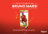 Five Digicel Customers to See Bruno Mars Live in Concert in Chicago