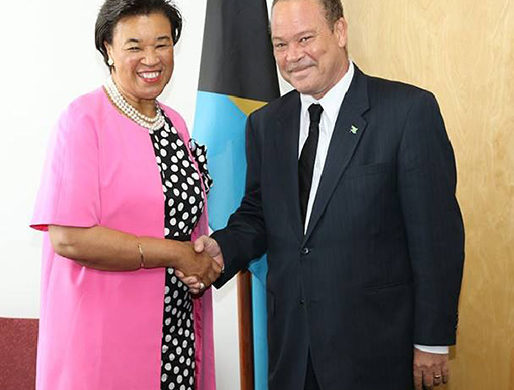 Baroness Pays Courtesy Call on AG