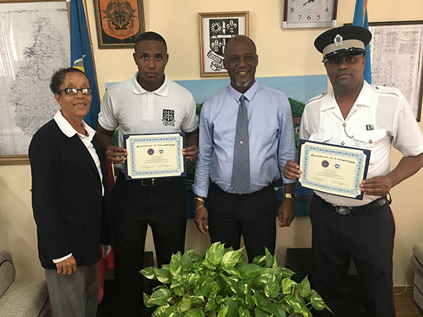 Police Officers completed a month long training program