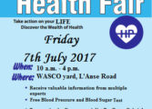 WASCO Health Fair