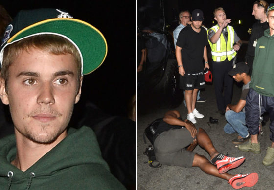 Justin Bieber hits photographer with pick-up truck