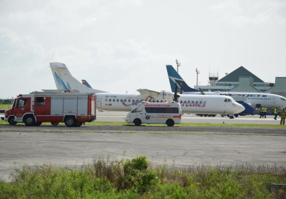 Caribbean Airlines plane makes emergency landing in Vieux Fort
