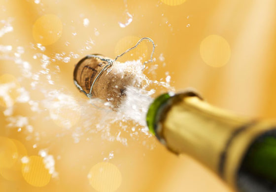Alleged burglar passed out after downing champagne